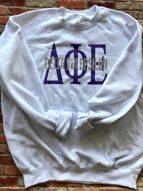 Delta Phi Epsilon Greek Bebas Sweatshirt