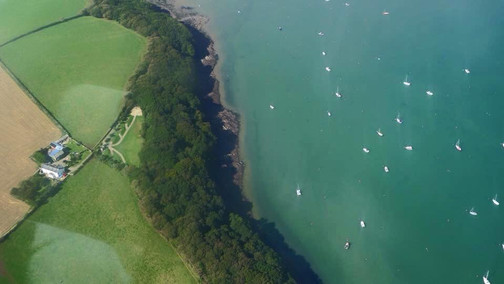 Point Farm aerial view