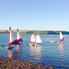 Junior sailing in Dale Bay