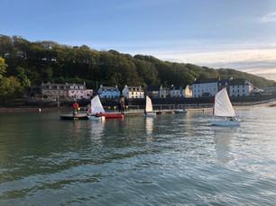 Sailing in Dale Bay