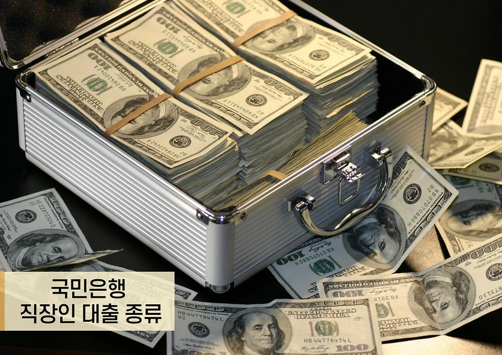 국민은행 직장인 대출 종류