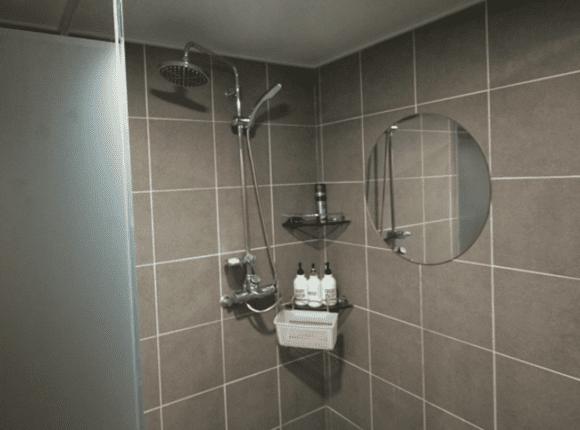 해운대 아로마 마사지 샤워실