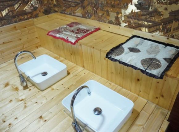 마포 아로마 마사지 족욕실
