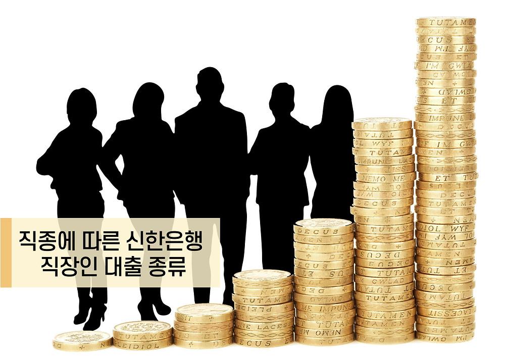 직종에 따른 신한은행 직장인 대출 종류