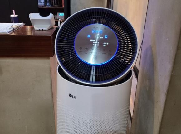 부산 1인샵 마사지 공기청정기