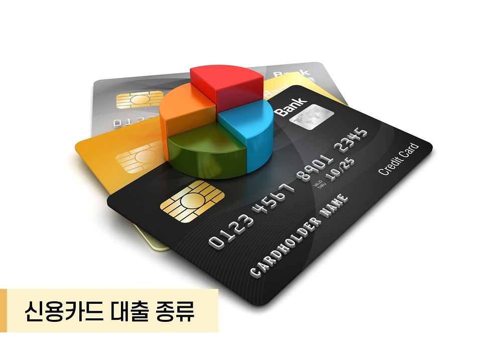 신용카드 대출 종류