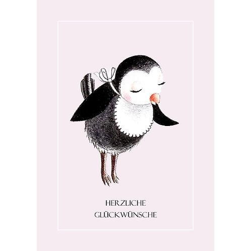 Postkarte Nannybird