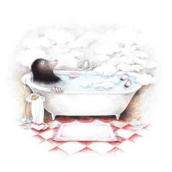 Maulwurf Badewanne