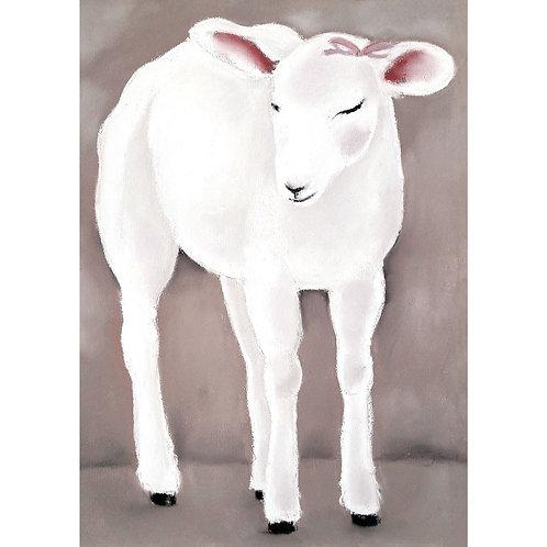 Postcard lamb