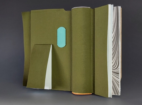 Book object with hollow