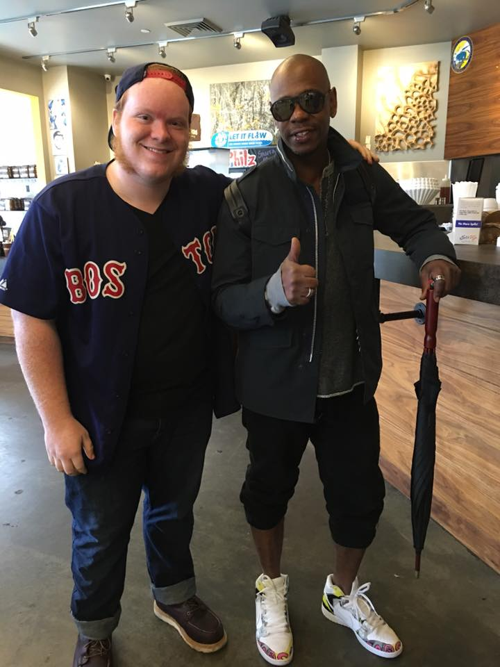 Shawn Clifford and Dave Chappelle