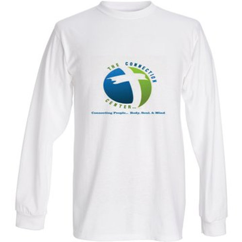 The Connection Center Long Sleeve T-Shirt Logo