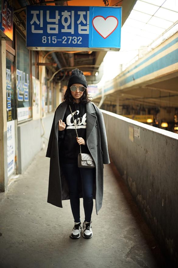 Hoodie X Oversize Coat