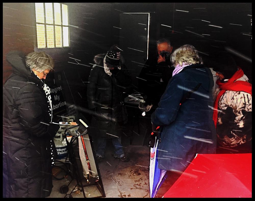 Praying in the Garage 3-10-17