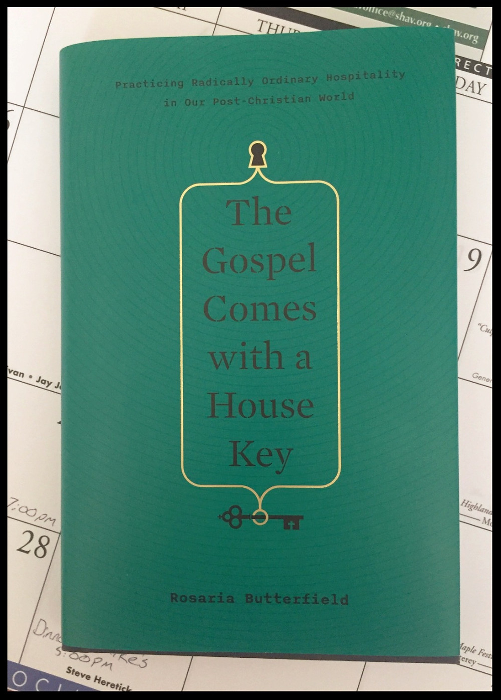 The Gospel Comes with a House Key book cover.