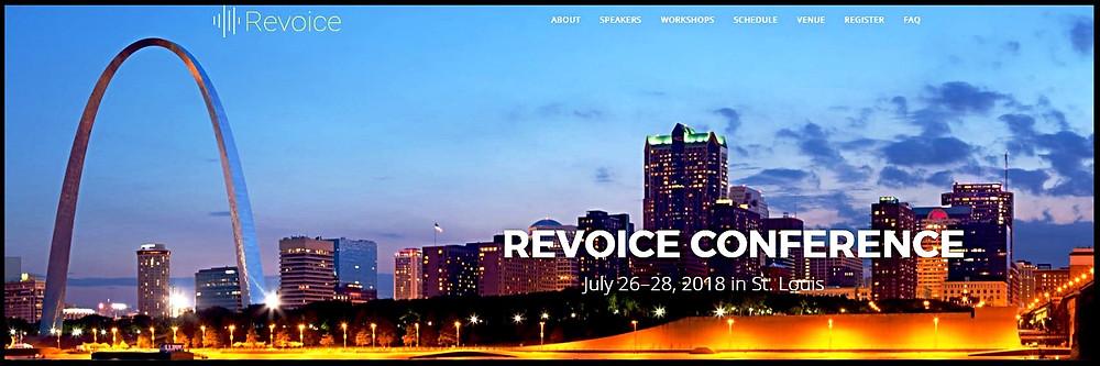 Revoice webpage