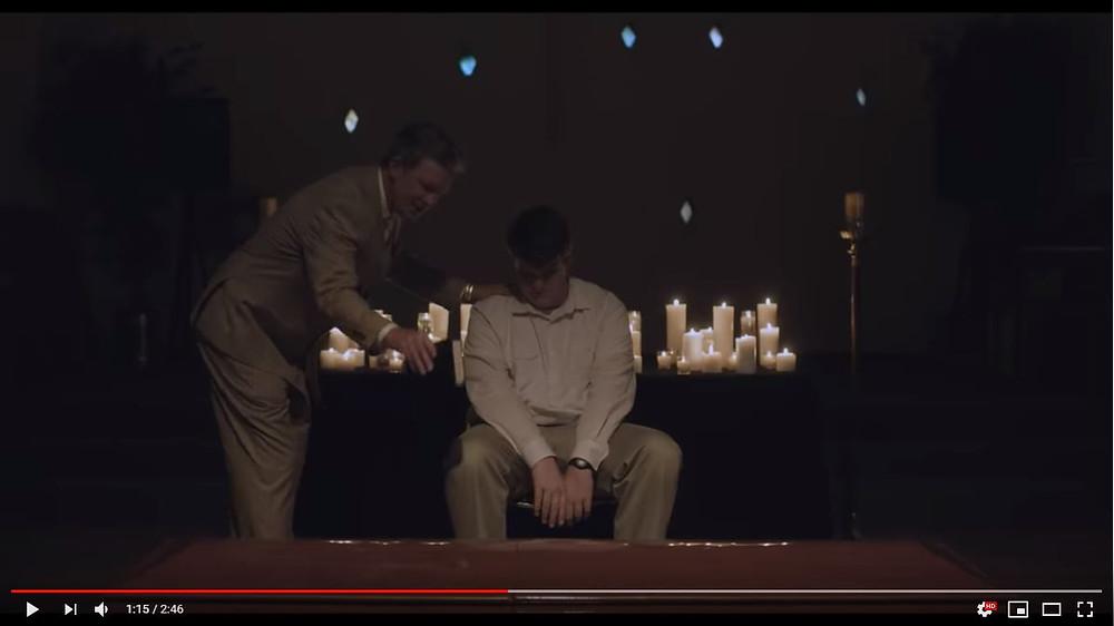 Clip from Boy Erased Trailer.