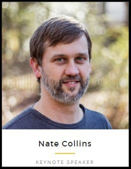 Nate Collins - founder and keynote speaker at Revoice Conference