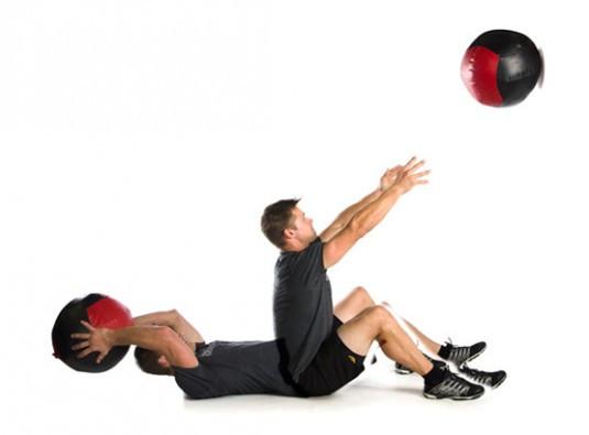 Wall Ball Situps