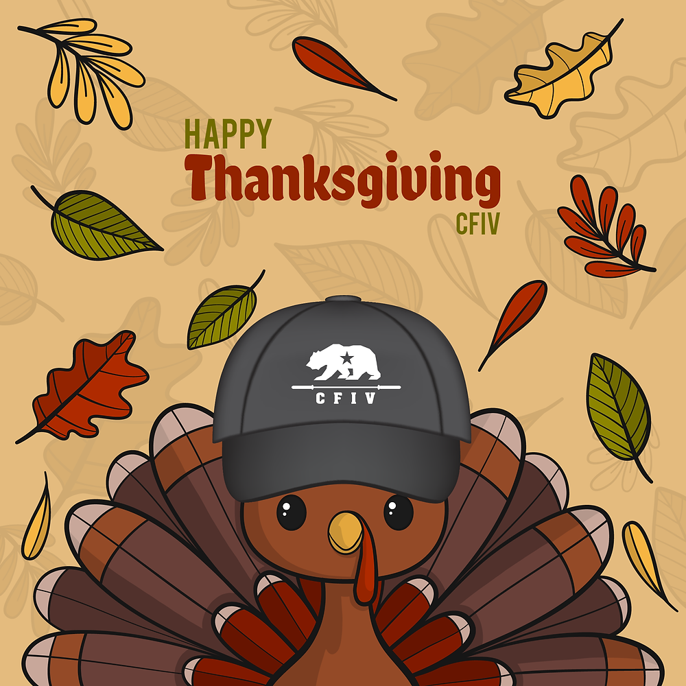 Happy Thanksgiving... From our CFIV Family to yours!