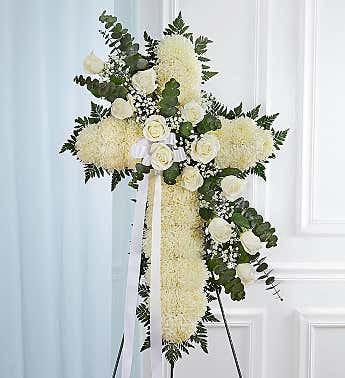 Funeral Easel - Cross Shape