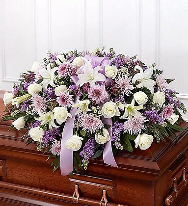 Funeral Half Casket Spray