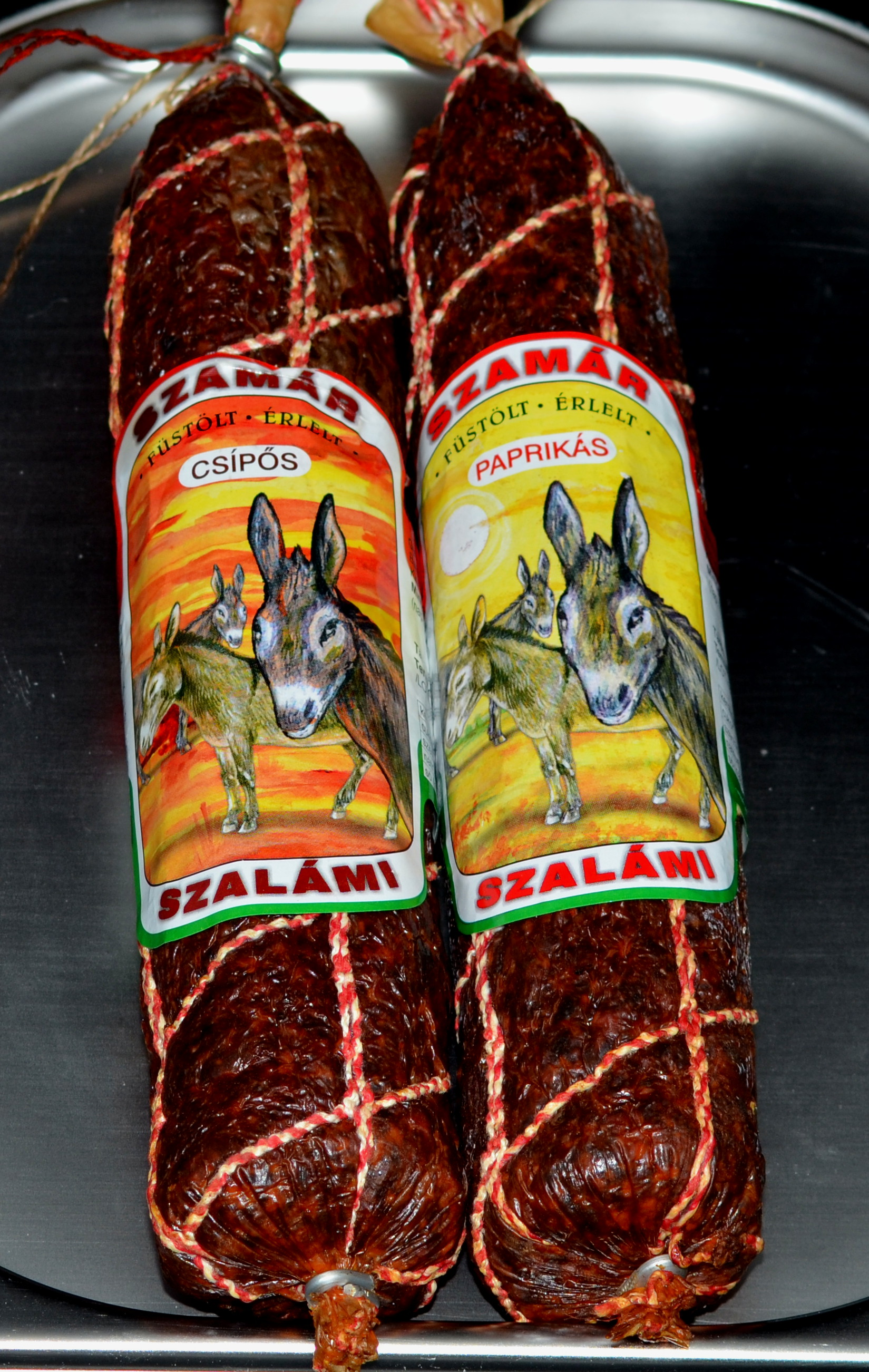 Salami z osła Balatoni Szamár