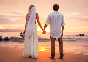 married-couple-bride-and-groom-at-sunset