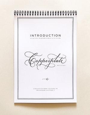 LIVRET Calligraphie - Copperplate