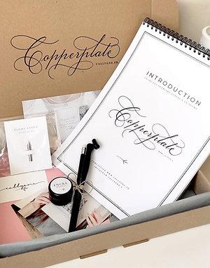 BOX Calligraphie - Copperplate