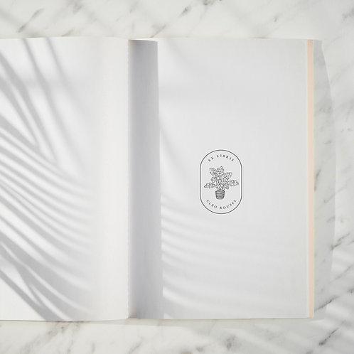 Monstera - Tampon Ex Libris