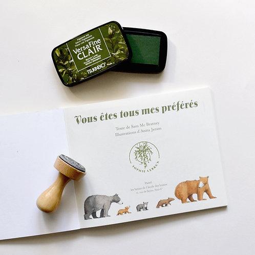 Petite Codonanthe - Tampon Ex Libris Enfant