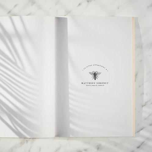 Abeille - Tampon Ex Libris