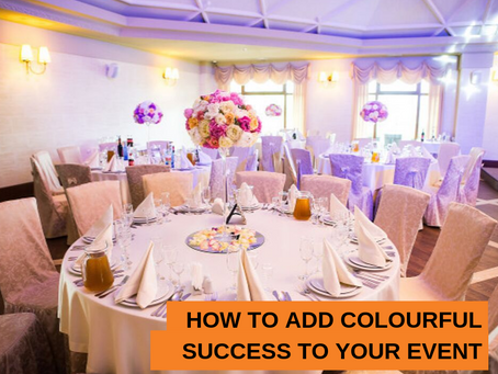 How to add colourful success to your event