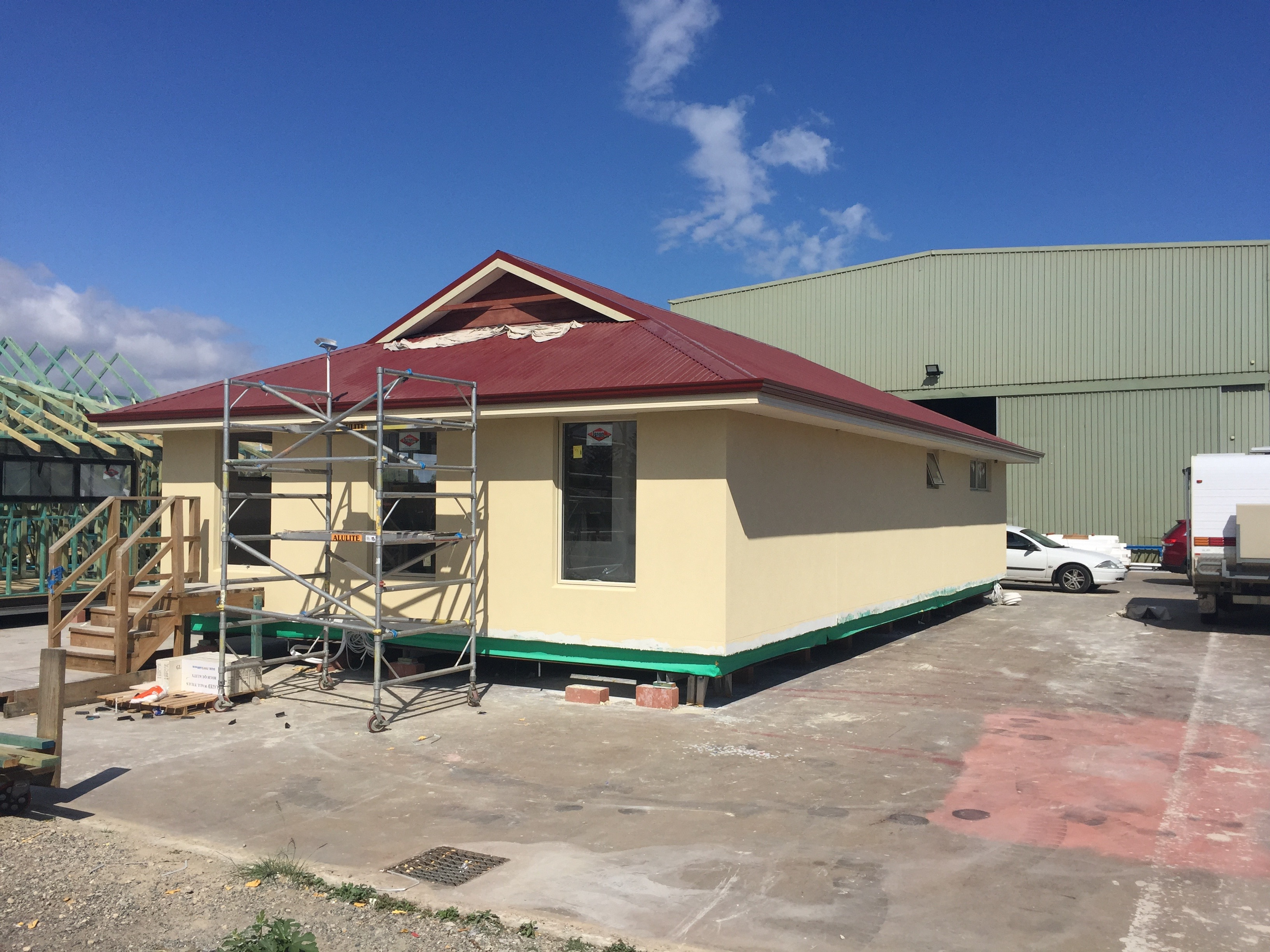 Upper Floor Insulated Wall System Co