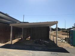 Carport Roof Frame Completed