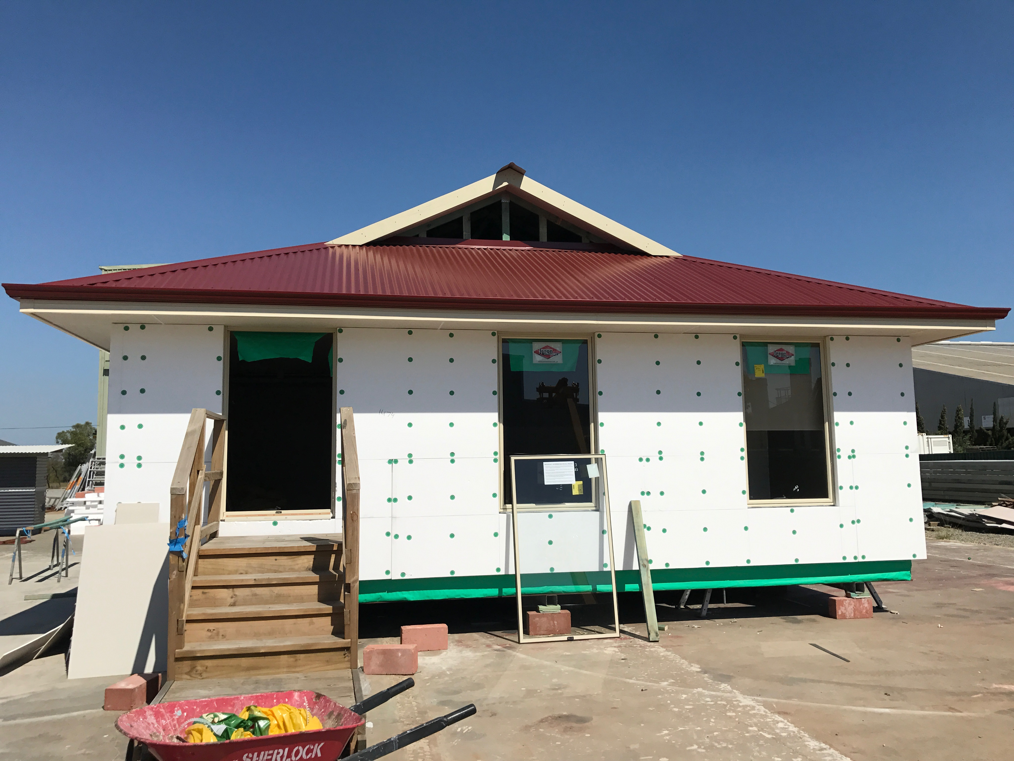 Upper Floor Insulated Wall System St