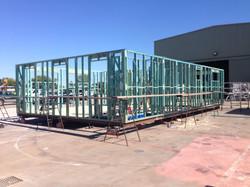 Upper Floor Wall & Floor Frames Comp