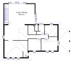 Ground Floor plan - Extension