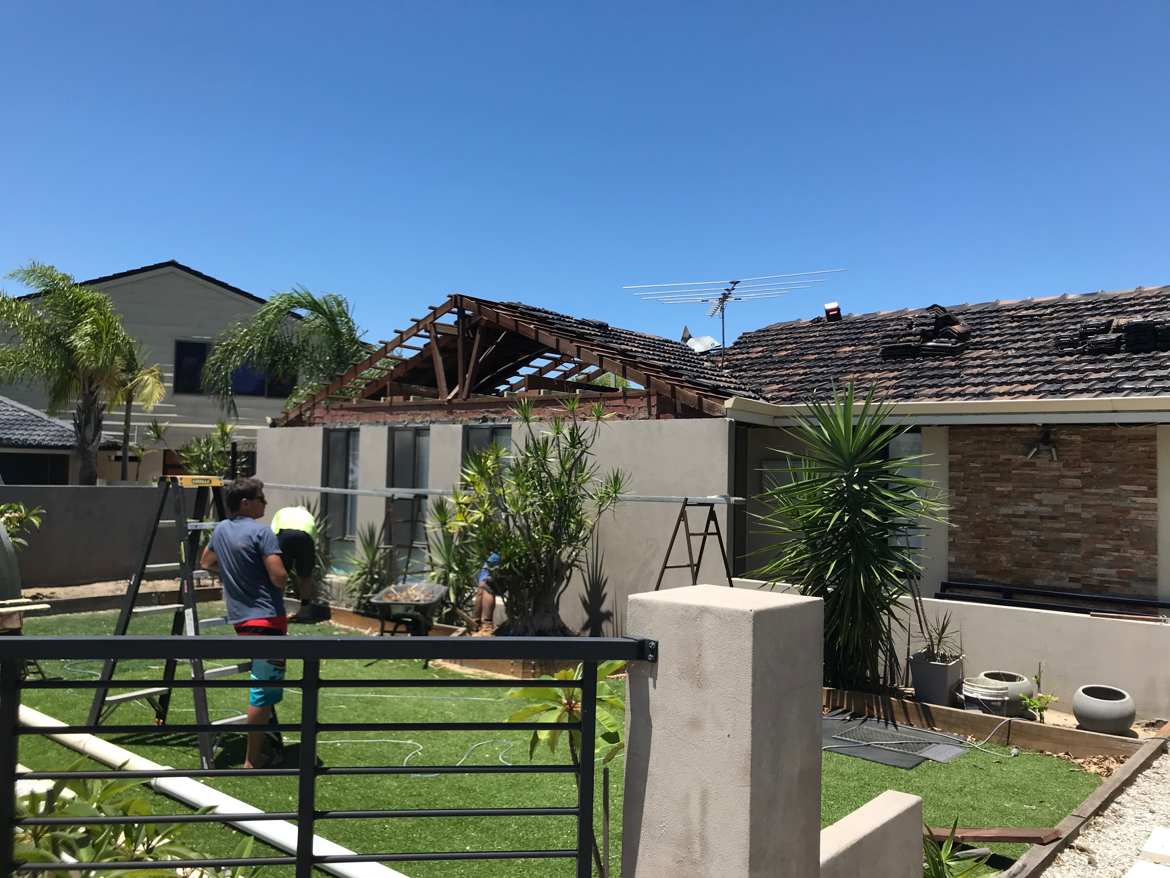 Front Roof Gable Demo