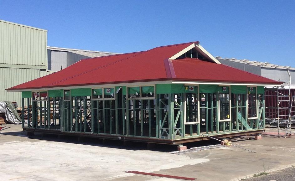 Upper Floor Roof Cover Complete.