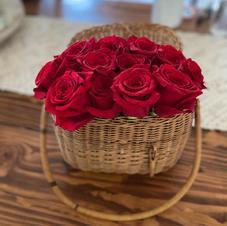 Rose Basket $18 & up