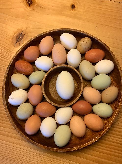16 Week Chicken Eggs Subscription ($5 doz.)
