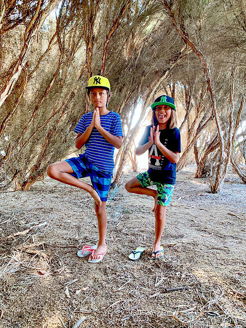 Tree Pose Hero 6 Image by Chris Herzfeld