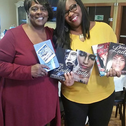 Had a great time at the Mocha Girls Read fifth year anniversary