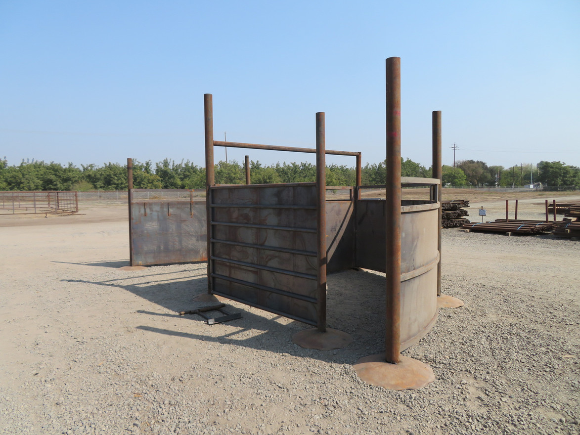 Cattle Tub Sweep Display