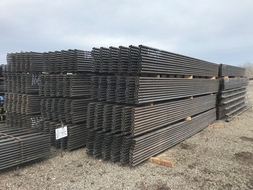 """1.66"""" Continuous Fence Panels 6 Rail, 5 Bar, 9"""" Spacing"""