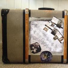 Immigration Suitcase 1956