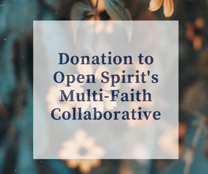 multifaith collaborative donation slide.