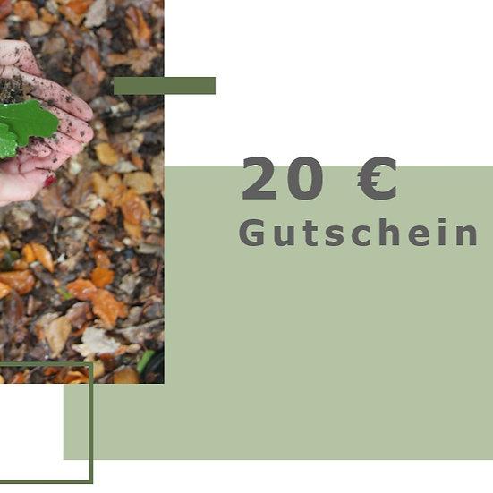Gutschein für 20€